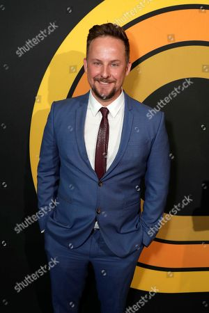 "Stephen Guarino is pictured at Showtime's ""I'm Dying Up Here"" premiere at the Directors Guild of America Theater, in Los Angeles"