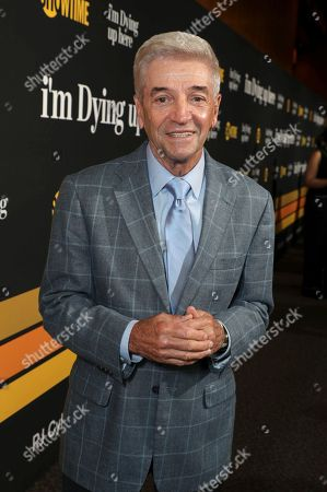 """Stock Photo of Tom Dreesen is pictured at Showtime's """"I'm Dying Up Here"""" premiere at the Directors Guild of America Theater, in Los Angeles"""