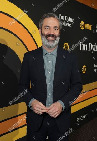 """Michael Aguilar, executive producer, is pictured at Showtime's """"I'm Dying Up Here"""" premiere at the Directors Guild of America Theater, in Los Angeles"""