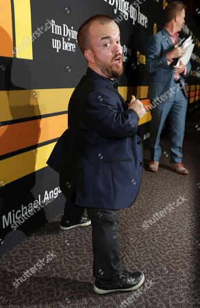 """Stock Image of Brad Williams is pictured at Showtime's """"I'm Dying Up Here"""" premiere at the Directors Guild of America Theater, in Los Angeles"""