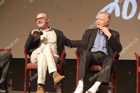 """Executive Producer David Hollander and Jon Voight seen at Showtime's """"Ray Donovan"""" Season 4 FYC Event at DGA, in Los Angeles"""