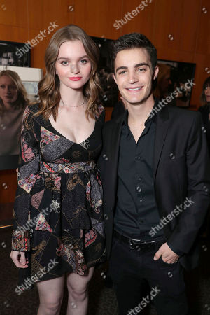"Kerris Dorsey and Devon Bagby seen at Showtime's ""Ray Donovan"" Season 4 FYC Event at DGA, in Los Angeles"
