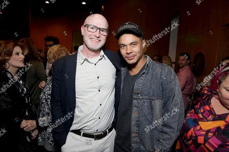 "Executive Producer David Hollander and Ismael Cruz Cordova seen at Showtime's ""Ray Donovan"" Season 4 FYC Event at DGA, in Los Angeles"