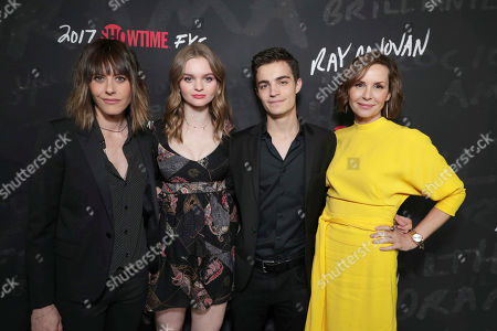 "Katherine Moennig, Kerris Dorsey, Devon Bagby and Embeth Davidtz seen at Showtime's ""Ray Donovan"" Season 4 FYC Event at DGA, in Los Angeles"