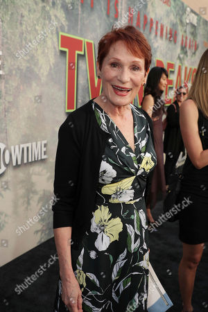 Wendy Robie pictured at Showtime's TWIN PEAKS premiere on in Los Angeles