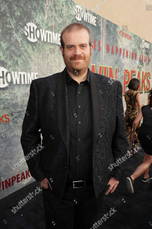 Eric Edelstein pictured at Showtime's TWIN PEAKS premiere on in Los Angeles