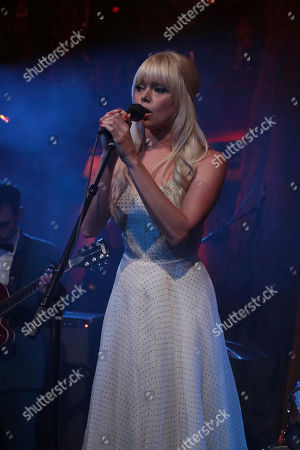 Ruth Radelet performs at Showtime's TWIN PEAKS premiere after party on in Los Angeles