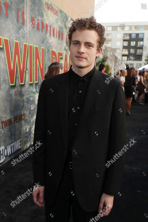 Ben Rosenfield pictured at Showtime's TWIN PEAKS premiere on in Los Angeles