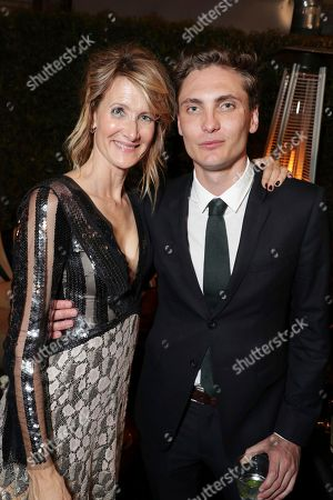 Laura Dern and Eamon Farren pictured at Showtime's TWIN PEAKS premiere after party on in Los Angeles