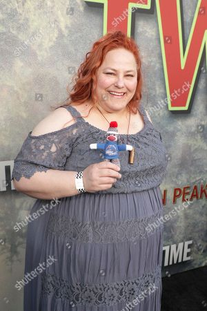 Stock Image of Andrea Hays pictured at Showtime's TWIN PEAKS premiere on in Los Angeles