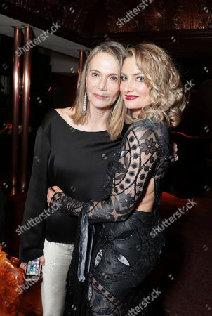 Peggy Lipton and Madchen Amick pictured at Showtime's TWIN PEAKS premiere after party on in Los Angeles