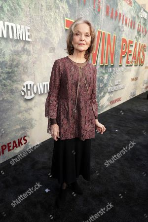 Grace Zabriskie pictured at Showtime's TWIN PEAKS premiere on in Los Angeles