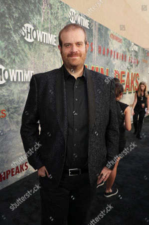 Stock Image of Eric Edelstein pictured at Showtime's TWIN PEAKS premiere on in Los Angeles