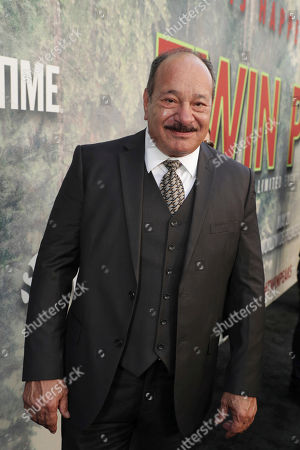Stock Photo of Juan Carlos Cantu pictured at Showtime's TWIN PEAKS premiere on in Los Angeles