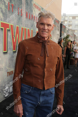 Everett McGill pictured at Showtime's TWIN PEAKS premiere on in Los Angeles