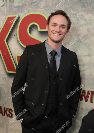 Stock Image of Kyle Weishaar pictured at Showtime's TWIN PEAKS premiere on in Los Angeles