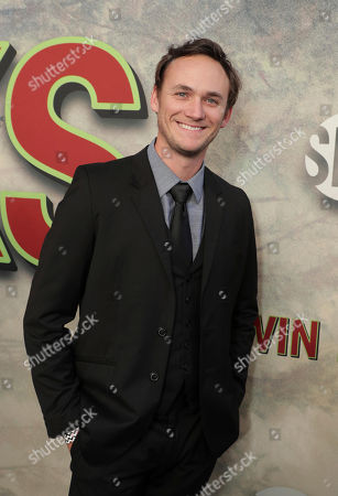 Stock Photo of Kyle Weishaar pictured at Showtime's TWIN PEAKS premiere on in Los Angeles