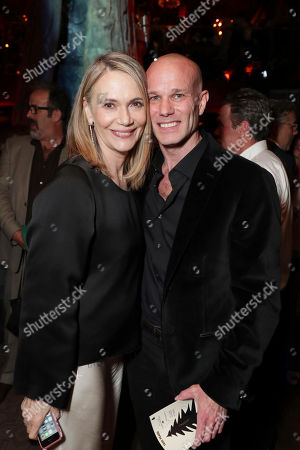 Peggy Lipton and James Marshall pictured at Showtime's TWIN PEAKS premiere after party on in Los Angeles