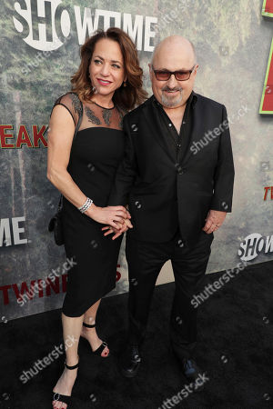 Elissa Middleton and Clark Middleton pictured at Showtime's TWIN PEAKS premiere on in Los Angeles