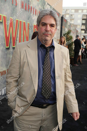 Stock Picture of James Giordano pictured at Showtime's TWIN PEAKS premiere on in Los Angeles