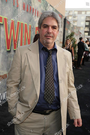 James Giordano pictured at Showtime's TWIN PEAKS premiere on in Los Angeles