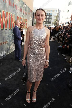 Stock Image of Kirsten Foe pictured at Showtime's TWIN PEAKS premiere on in Los Angeles