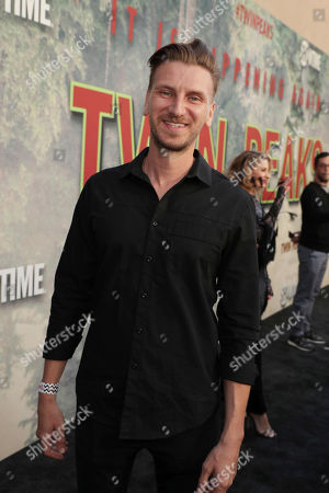 Stock Picture of Bill Tangradi pictured at Showtime's TWIN PEAKS premiere on in Los Angeles