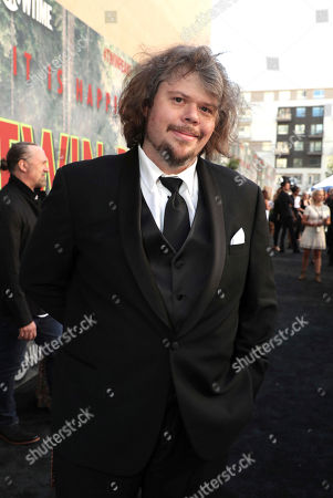 Stock Picture of Jeremy Lindholm pictured at Showtime's TWIN PEAKS premiere on in Los Angeles