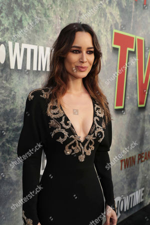 Berenice Marlohe pictured at Showtime's TWIN PEAKS premiere on in Los Angeles