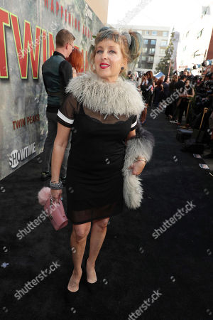 Kimmy Robertson pictured at Showtime's TWIN PEAKS premiere on in Los Angeles