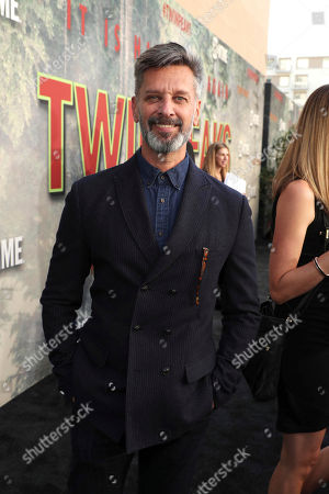Vincent Castellanos pictured at Showtime's TWIN PEAKS premiere on in Los Angeles