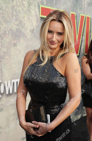 Amy Shiels pictured at Showtime's TWIN PEAKS premiere on in Los Angeles