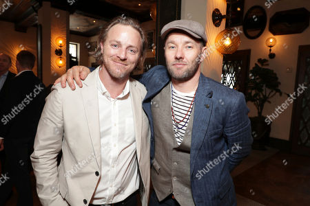 Nathaniel Dean and Joel Edgerton seen at Sir Ridley Scott Hands and Footprint Ceremony at the TCL Chinese Theatre, in Los Angeles