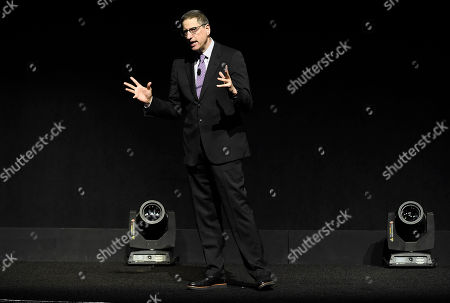 Thomas Rothman, Chairman of Sony Pictures Entertainment's Motion Picture Group, speaks at Sony Pictures Entertainment CinemaCon 2017 Summer and Beyond Presentation, in Las Vegas