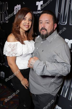 Exec. Producer Mister Cartoon seen at a SpecialScreening of BH Tilt, Imagine Entertainment and Telemundo Films 'Lowriders' on at the Regal LA Live in Los Angeles, Ca