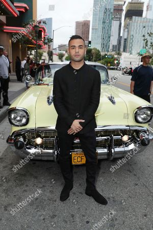 Gabriel Chavarria seen at a SpecialScreening of BH Tilt, Imagine Entertainment and Telemundo Films 'Lowriders' on at the Regal LA Live in Los Angeles, Ca