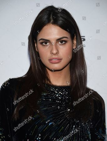 Stock Photo of Model Bo Krsmanovic attends the Sports Illustrated Swimsuit 2017 launch event at Center415, in New York