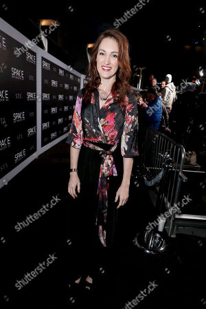 """Kristen Rakes seen at STX Entertainment Los Angeles Special Screening of """"The Space Between Us"""" at ArcLight Hollywood, in Los Angeles"""