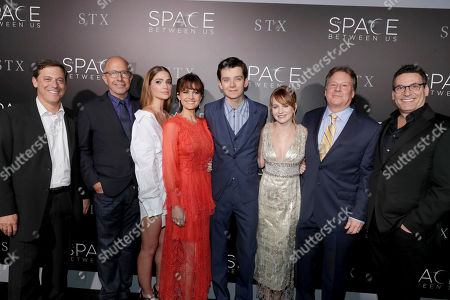 "Editorial image of STX Entertainment Special Screening of ""The Space Between Us"", Los Angeles, USA - 17 Jan 2017"