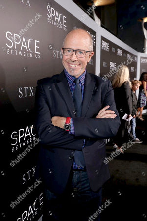 """Director Peter Chelsom seen at STX Entertainment Los Angeles Special Screening of """"The Space Between Us"""" at ArcLight Hollywood, in Los Angeles"""