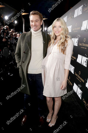 "Chad Michael Murray and Sarah Roemer seen at Summit Entertainment, a Lionsgate Company, Los Angeles Premiere of ""John Wick Chapter 2"" at ArcLight Hollywood, in Los Angeles"