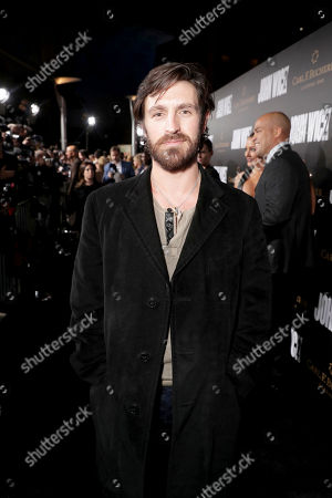 """Eoin Macken seen at Summit Entertainment, a Lionsgate Company, Los Angeles Premiere of """"John Wick Chapter 2"""" at ArcLight Hollywood, in Los Angeles"""