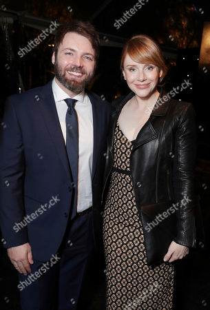 Seth Gabel and Bryce Dallas Howard seen at Ted Sarandos' 2017 Netflix Screen Actors Guild Nominee Toast, in Los Angeles, CA