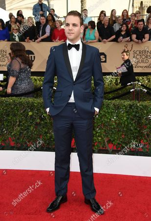 Alan Aisenberg arrives at the 23rd annual Screen Actors Guild Awards at the Shrine Auditorium & Expo Hall, in Los Angeles