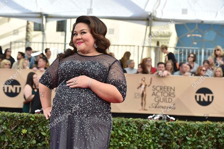 Jolene Purdy arrives at the 23rd annual Screen Actors Guild Awards at the Shrine Auditorium & Expo Hall, in Los Angeles