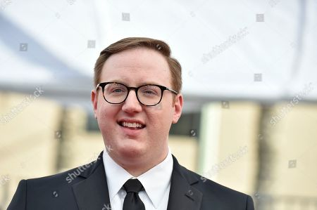 Matt Bellassai arrives at the 23rd annual Screen Actors Guild Awards at the Shrine Auditorium & Expo Hall, in Los Angeles