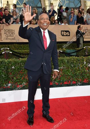 Paris Barclay arrives at the 23rd annual Screen Actors Guild Awards at the Shrine Auditorium & Expo Hall, in Los Angeles
