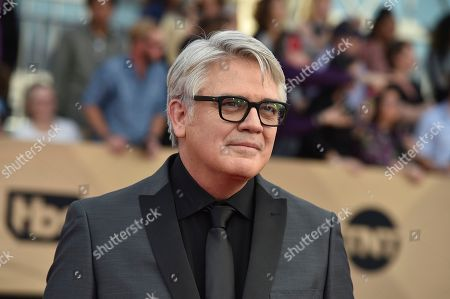 Michael Harney arrives at the 23rd annual Screen Actors Guild Awards at the Shrine Auditorium & Expo Hall, in Los Angeles