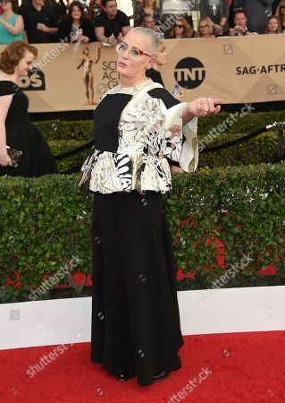 Lori Petty arrives at the 23rd annual Screen Actors Guild Awards at the Shrine Auditorium & Expo Hall, in Los Angeles