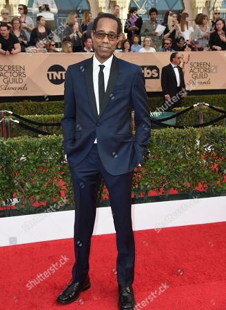 Stock Picture of Wayne Wilderson arrives at the 23rd annual Screen Actors Guild Awards at the Shrine Auditorium & Expo Hall, in Los Angeles